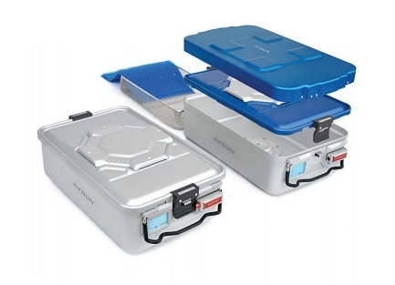 Estima Medical Group, produse pentru prevenirea infectiilor, produse destinate blocului operator, Containere de sterilizare Bio Barrier Aygun, Containere de sterilizare standard Aygun