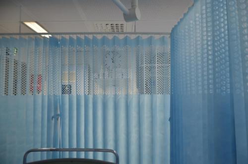 Curtains Helsinki University Hospital